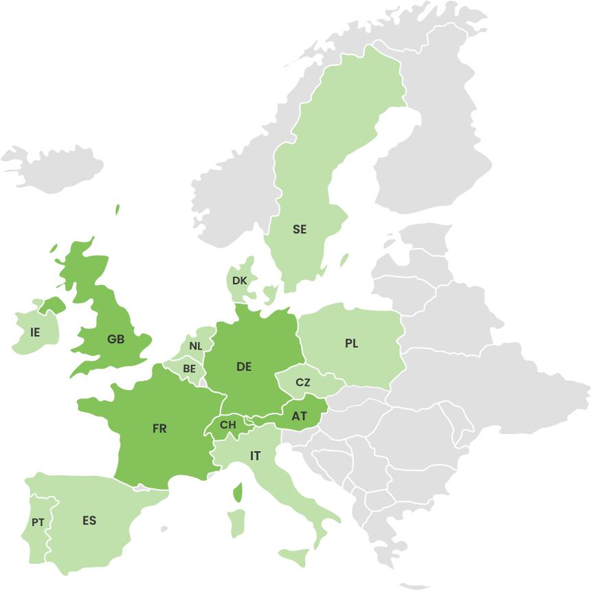 Europe map (2)